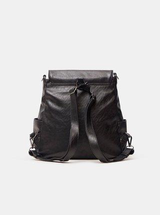 Černý dámský květovaný batoh Desigual Niagara Positano