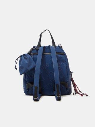 Modrý dámsky vzorovaný batoh Desigual Galia Viana Mini