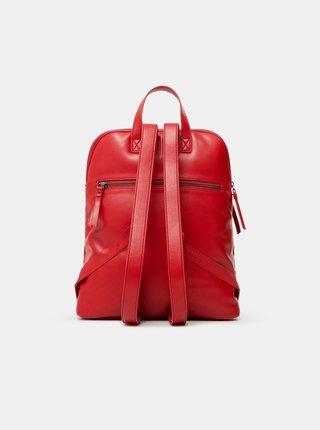 Červený dámský prošívaný batoh Desigual Bibi Big Nanaimo