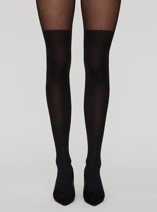 Černé punčochové kalhoty VERO MODA Gladys