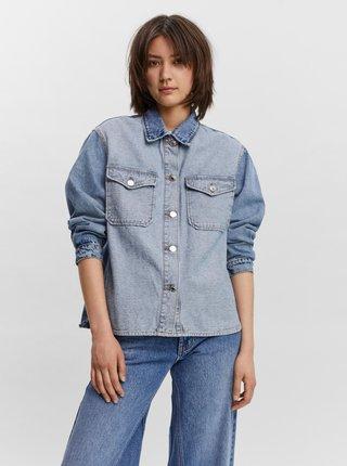 Modrá džínová bunda VERO MODA Oyo