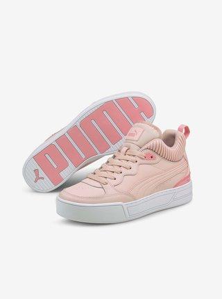 Růžové dámské kotníkové tenisky Puma