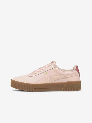 Růžové dámské tenisky Puma