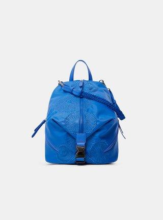 Modrý dámsky vzorovaný batoh Desigual Mandarala Viana