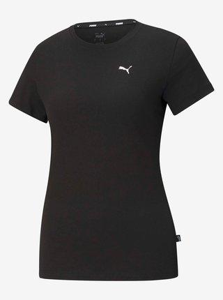 Čierne dámske tričko Puma