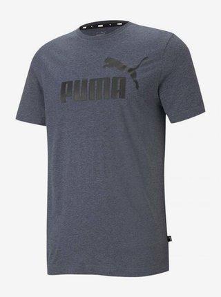 Tmavě modré pánské tričko s potiskem Puma