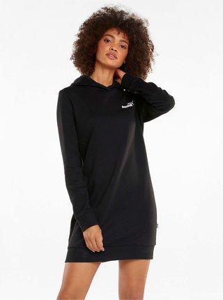 Černé dámské mikinové šaty Puma