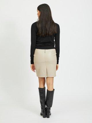 Černý svetr s krajkou VILA-Fri