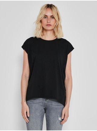 Čierne basic tričko Noisy May Mathilde