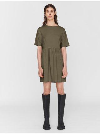 Kaki šaty Noisy May Kerry