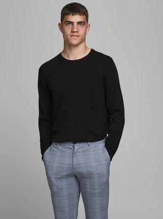 Čierny vlnený sveter Jack & Jones Mark