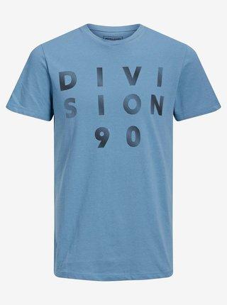 Modré tričko Jack & Jones Limits