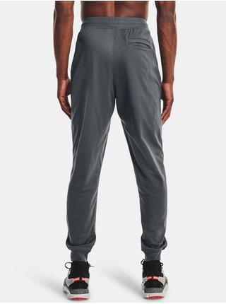 Kalhoty Under Armour SPORTSTYLE TRICOT JOGGER - šedá