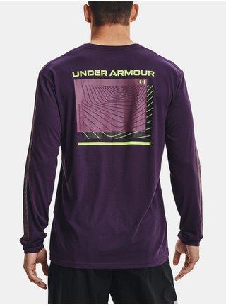 Tričko Under Armour UA 21230 SWERVE LS - fialová