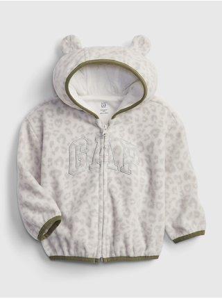 Šedá holčičí mikina arch hoodiemikina arch hoodie