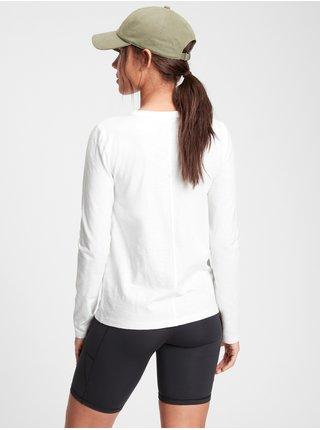 Bílé dámské tričko Basic