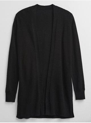 Černý dámský svetr hladký pletený GAP