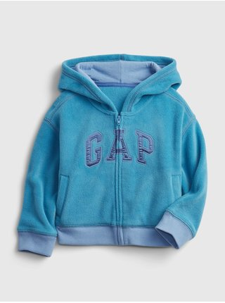 Modrá holčičí mikina GAP Logo profleece active top