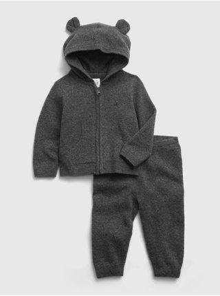 Černá klučičí souprava GAP hoodie sweater