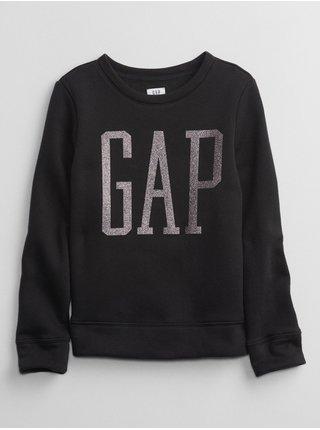 Černá holčičí mikina GAP Logo