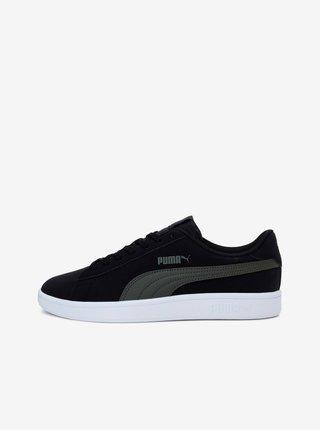 Černé pánské tenisky v semišové úpravě Puma
