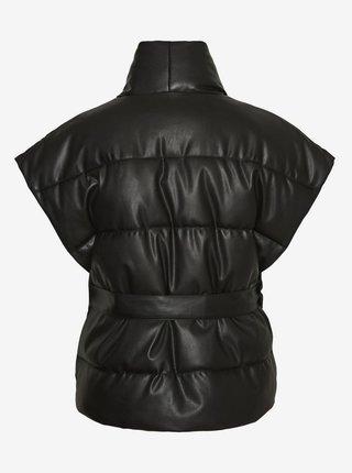 Čierna prešívaná vesta Noisy May Vitty