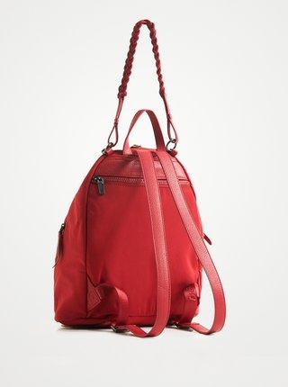 Červený dámsky vzorovaný batoh Desigual Mandarala Viana