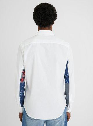 Bílá pánská košile Desigual Dani