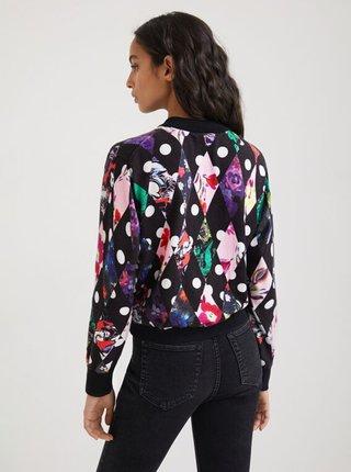 Čierny dámsky vzorovaný sveter Desigual Dublin