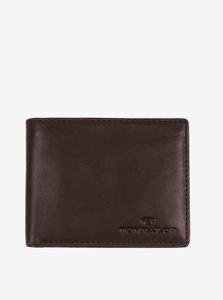 Tmavě hnědá pánská peněženka Tom Tailor Denim