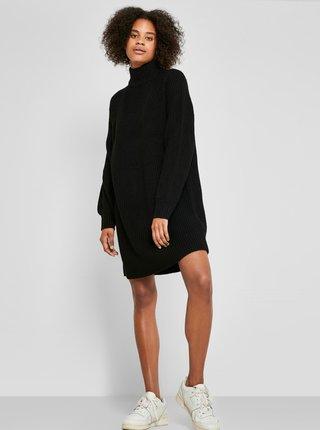 Černé svetrové šaty Noisy May Timmy