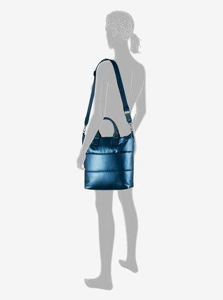 Modrá dámska metalická kabelka Tom Tailor Denim