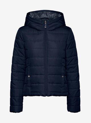 Tmavě modrá prošívaná zimní bunda VERO MODA Simone