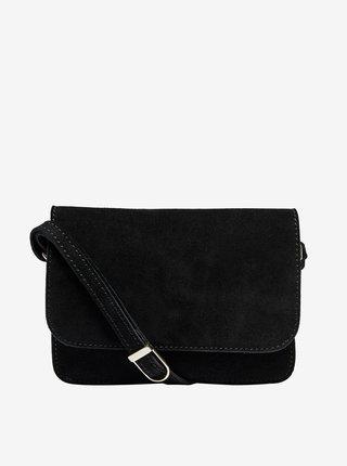 Čierna semišová crossbody kabelka ONLY Inge