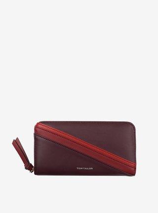 Vínová dámská peněženka Tom Tailor