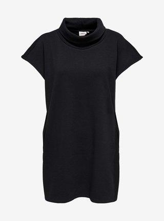 Černé šaty s rolákem ONLY Debbie