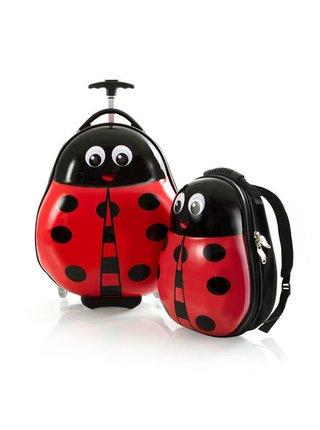 Dětský kufr Heys Travel Tots Lady Bug – sada batohu a kufru