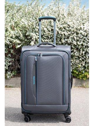 Cestovní kufr Travelite CrossLITE 4w M Anthracite