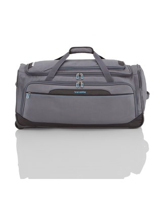 Cestovní taška Travelite CrossLITE Wheeled duffle L Anthracite