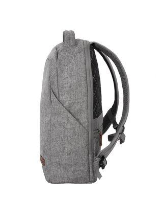 Batoh Travelite Basics Safety Backpack Light grey