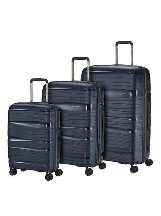Sada cestovních kufrů Travelite Motion S,M,L Navy – sada 3 kufrů