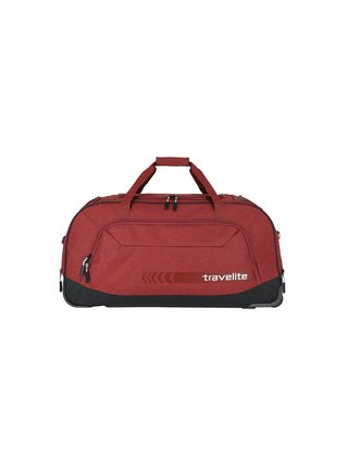 Cestovní taška Travelite Kick Off Wheeled Duffle Red