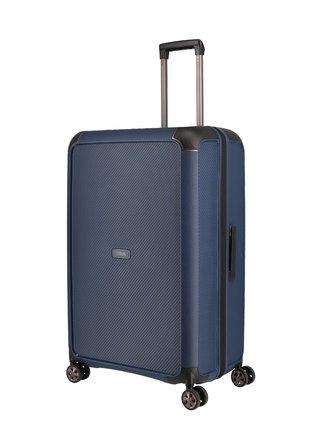 Cestovní kufr Titan Compax 4w L Navy