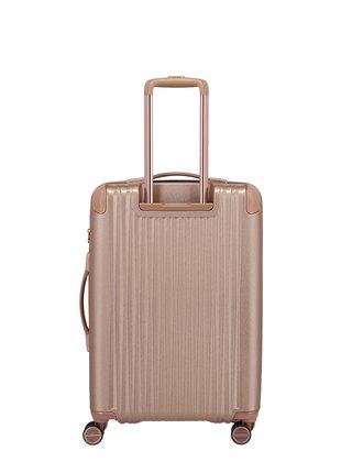 Cestovní kufr Titan Barbara Glint M Rose metallic