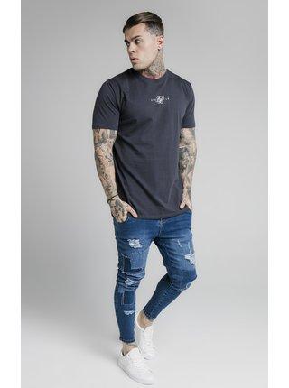 Tmavě modré pánské tričko  TEE CORE BASIC S/S
