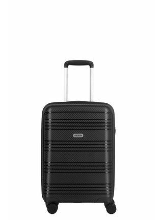 Sada cestovních kufrů Travelite Zenit S,M,L Black – sada 3 kufrů