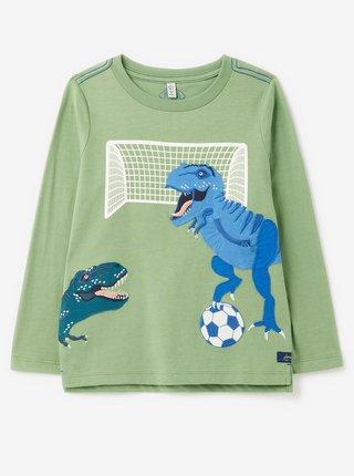 Zelené chlapčenské tričko s potlačou Tom Joule