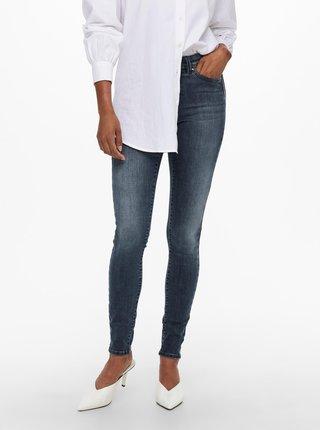 Tmavě modré skinny fit džíny ONLY Wauw