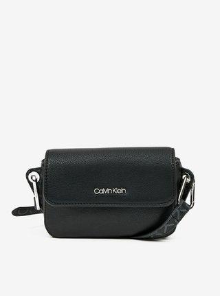 Čierna dámska crossbody kabelka Calvin Klein