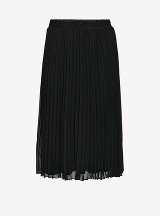 Černá plisovaná sukně ONLY CARMAKOMA New Sarah